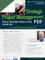 Stretegic Project Management
