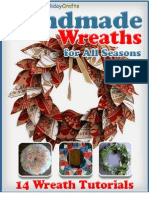 Handmade Wreaths for All Seasons 14 Wreath Tutorials eBook