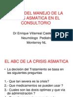 #2 El ABC Del Manejo de La Crisis Asmatica - Enrique Villarr