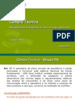 ANS 20120613 Obrigatoriedade Ouvidoria Ss 1a Reuniao Apresentacao
