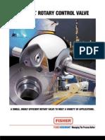 v ball rotary control valve