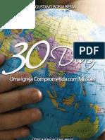 30 Dias uma igreja Comprometida com a missão