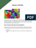 Create Baloon