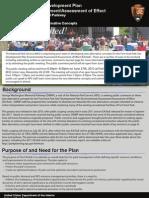 NPS Fort Hunt Park Site Development Plan Newsletter