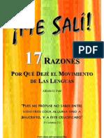17 Razones de Dejar El Movimiento de Las Lenguas