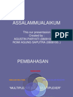 PPT. MULTIPLEXER-DEMULTIPLEXER