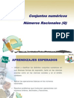 Conjuntos numéricos II