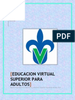 Educacion Virtual Superior Para Adultos