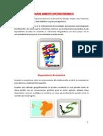 Ecuador Ámbito Socioeconómico