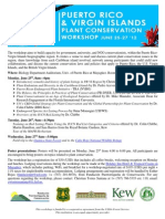 PR-VI Plant Conservation Workshop_June 25-29-2012