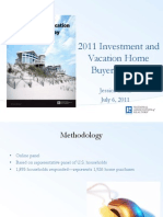 Investment and Vacation Home Buyers 2011 Webinar