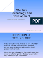 MSE 600