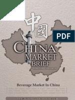 Beverage Market in China - Market Brief