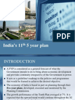 11th Five Year Plan
