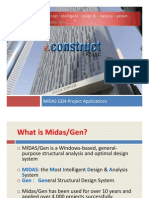 03-Building Project Applications Using MIDAS Gen