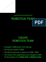Robotics Team Presentation
