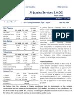 Al Jazeira Services Update