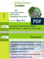 Workshop OnSense Energy 04-05-2012