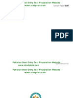 ECAT Test Sample Test Papers_new