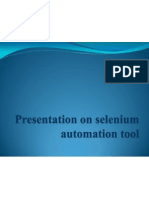 New Presentation on Selenium1