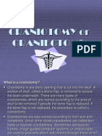 Craniotomy or Craniectomy