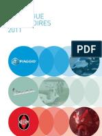 Catalogue Accessoires Piaggio Vespa Gilera