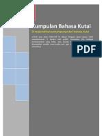 Kumpulan Bahasa Kutai