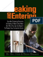 Breaking and Entering-How the Collapsing Economy is Creating a New Crime Wave & What You Can Do About It