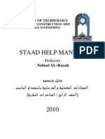 staad help Manual (2010)