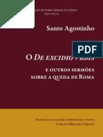 santo agostinho 2010_o de excidio vurbis e outros sermões sobre a queda de roma