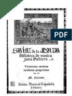 Matteo Carcassi - 25 Estudios Progresivos, Op. 35