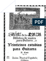 Napoléon Coste - Veinticinco Estudios para Guitara, Op. 38
