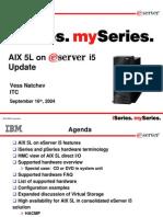 Aix One Server i 5 Update Tech Talk