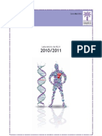 Laboratório Bioquímica II - FFUL 2011