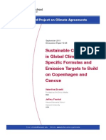 sustainable cooperation in climate policy