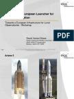 David_Iranzo_Ariane5 possible derivatives_LOFARworkshop 2005