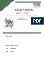 Testes Unitários com JUnit