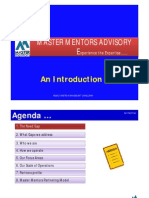 Master Mentors Presentation