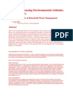 Environmental Factors and Remedies