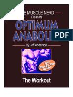 Optimum Anabolics - The Workout