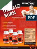 Yoli Thermo Burn Flyer