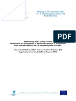 AquaFit4Use - Methodology Water Quality Control