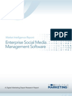 Enterprise Social Media Management Software 2012