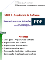 u01-Arquitetura de Software Multicamadas