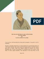 The Grand Historian and Astronomer Ssu-ma Chi'en