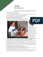 Health Benefits of Tuba or Coconut Wine
