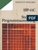 HP41C Standard Programmsammlung