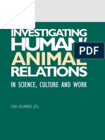 Holmberg Tora_Investigating HumanAnimal Relations in Science, Culture and Work
