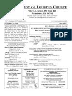Bulletin Jan 4 09