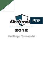 CATÁLOGO DEFENDO 2012 ip